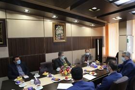 دیدار مدیر کل بهزیستی استان مازندران با مدیر امور شعب بانک رفاه کارگران استان