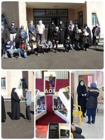 طالقان | اهداء گوشی هوشمند به دانش آموزان تحت پوشش شهرستان طالقان