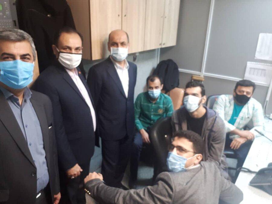 دیدار استاندار، مدیرکل بهزیستی و رئیس دانشگاه علوم پزشکی گلستان با جمعی از معلولین