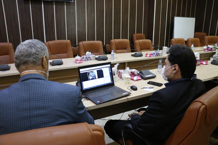 وبینار تخصصی مدیرکل بهزیستی گیلان با مدیران سمن های معلولین استان گیلان